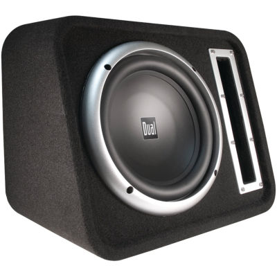 Dual Electronics SBX100 10IN Vented Subwoofer Bandpass Box