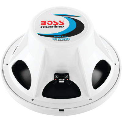 BOSS Audio Systems MR101 10IN 600-Watt Single Voice Coil Marine Subwoofer