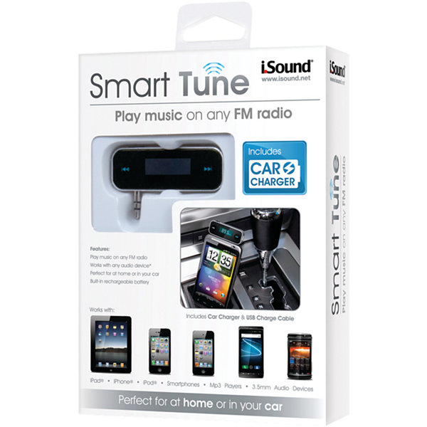 i.Sound ISOUND-1639 Smart Tune FM Transmitter