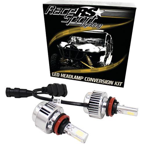 Race Sport Inc. H10LED3S 3-Sided Driverless LED Headlight Kit (H10)