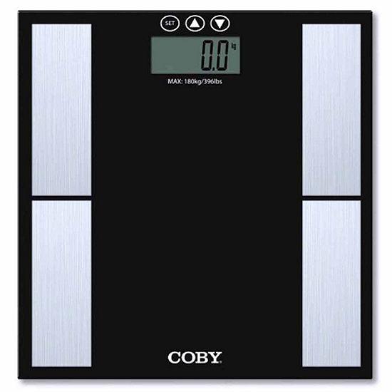 Coby Digital Glass Bathroom Scale CBS‑G614