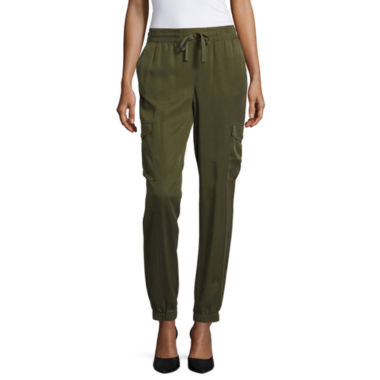 a.n.a Soft Cargo Cropped Pants