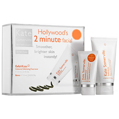 Kate Somerville Hollywoods 2 Minute Facial Kit
