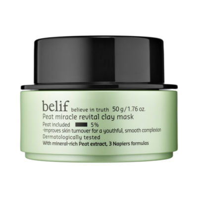 belif Peat Miracle Revital Clay Mask