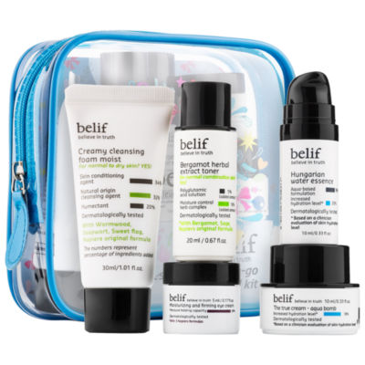 belif Bestsellers On-The-Go Holiday Travel Kit