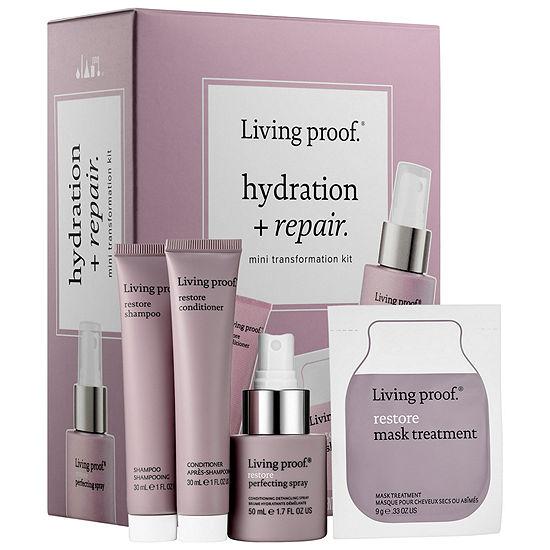 Living Proof Hydration + Repair Mini Transformation Kit