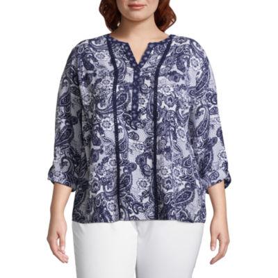 Long Sleeve Roll Tab Equipment Shirt- Plus