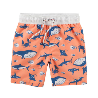 Oshkosh Animal One Piece Swimsuit Toddler Boys