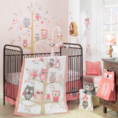 Lambs & Ivy Family Tree 4-pc. Crib Bedding Set