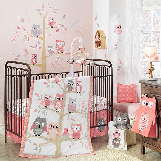 Lambs Ivy Family Tree 4 Pc Crib Bedding Set