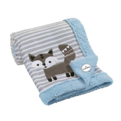 Lambs & Ivy Stay Wild Animal Blanket - Unisex