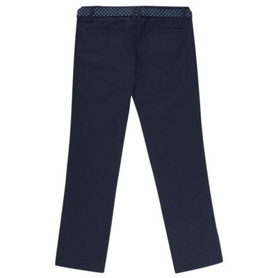 French Toast Flat Front Pants-Preschool Girls
