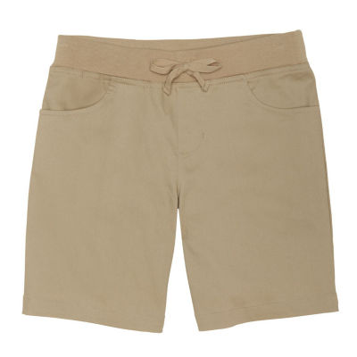 French Toast Pull-On Shorts Preschool Girls