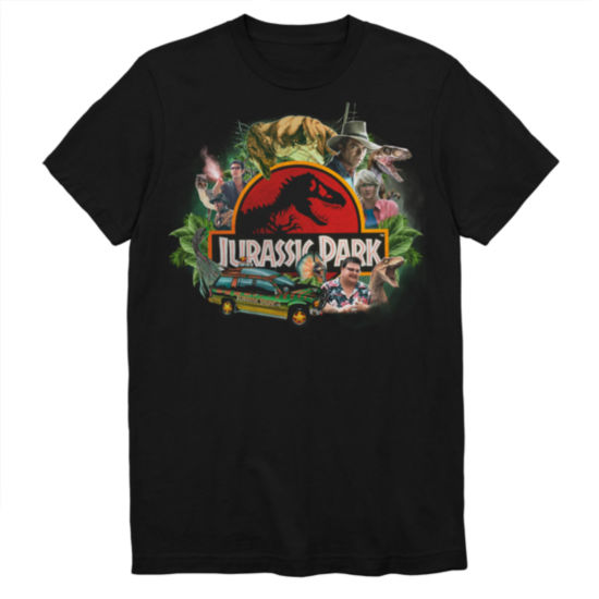 Jurassic Park Collage Graphic Tee