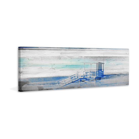 Guard House Painting Print on Wrapped Canvas