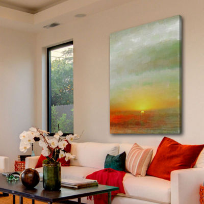 Del Ray Painting Print on Wrapped Canvas
