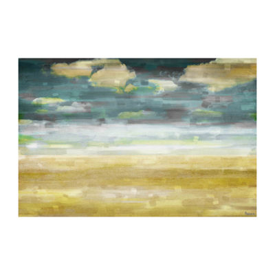Distant Sands Painting Print on Wrapped Canvas