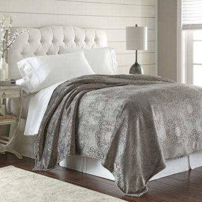 Italian Tile Hot Pressed Velvet Plush Blanket