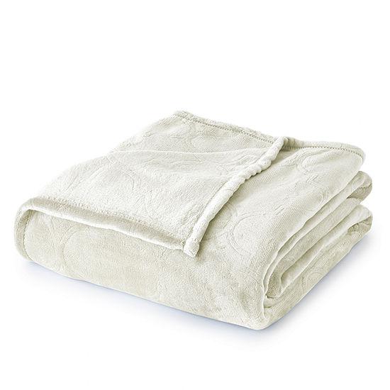 Summer Ogee Hot Pressed Velvet Plush Blanket