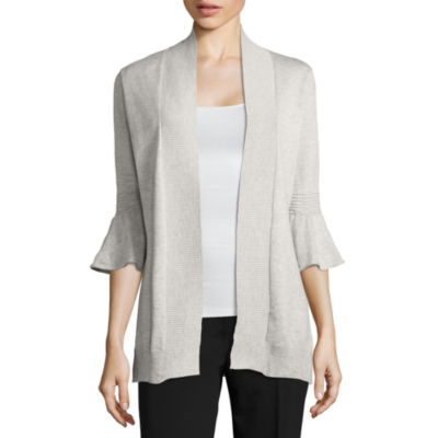 Cyrus 3/4 Bell Sleeve Open Front Cardigan