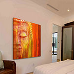 Buddha Painting Print on Wrapped Canvas