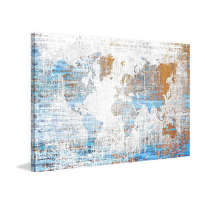 Travels Painting Print on Wrapped Canvas