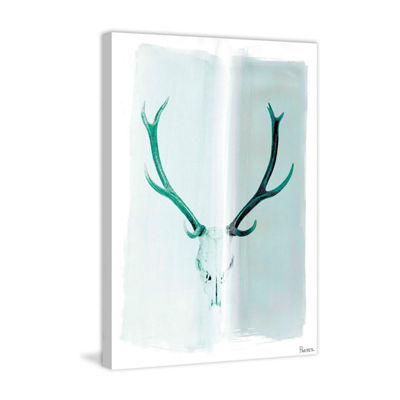 Head Gear Painting Print on Wrapped Canvas