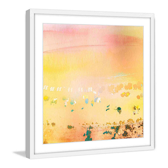 High Sun Framed Painting Print