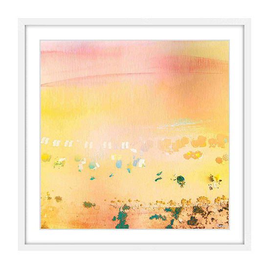 High Sun Framed Painting Print