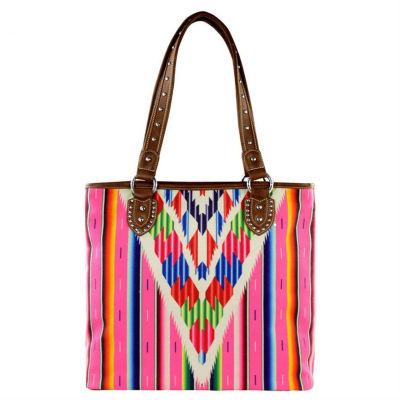 Montana West Kylie Fabric Tote Bag