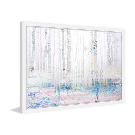 Enlightened Framed Painting Print