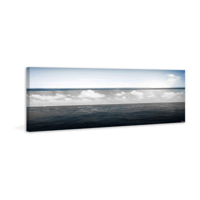 Fading Clouds Painting Print on Wrapped Canvas