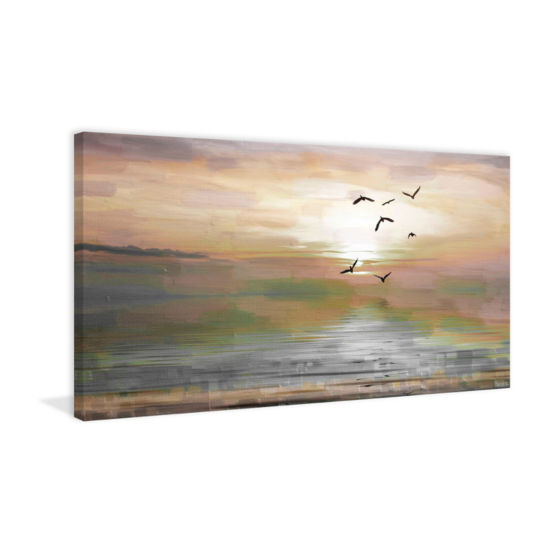 Hyman Painting Print on Wrapped Canvas