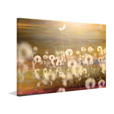 Field Painting Print on Wrapped Canvas