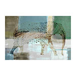 Jeweled Elephant Painting Print on Wrapped Canvas