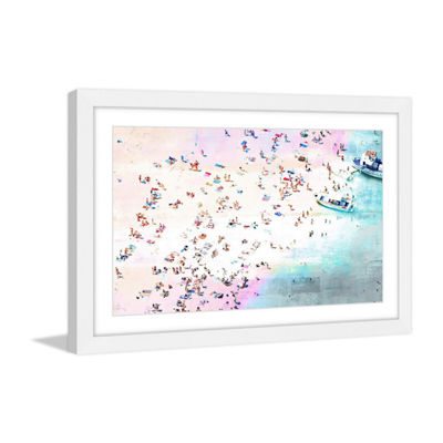 Fun and Sun Framed Painting Print