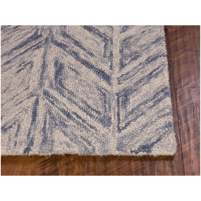 Kas Herringbone Hand Tufted Rectangular Rugs