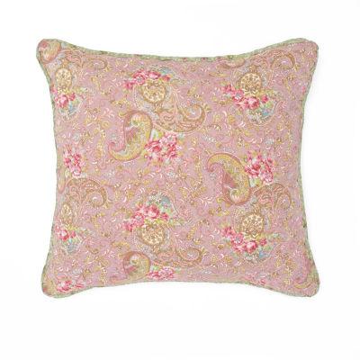 Nostalgia Home Eve 16x16 Square Throw Pillow