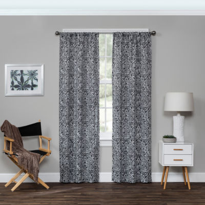 Eclipse Bryton Blackout Rod-Pocket Curtain Panel