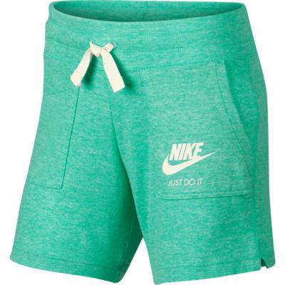 Nike Logo Running Shorts - Big Kid Girls