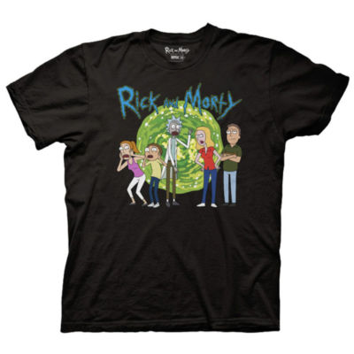 Rick Morty Family Graphic Tee
