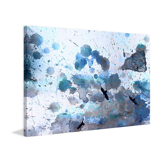 Indian Wells Painting Print on Wrapped Canvas