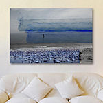 Ipanema Painting Print on Wrapped Canvas