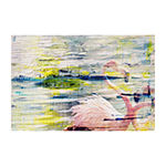 Flamingo Style Painting Print on Wrapped Canvas
