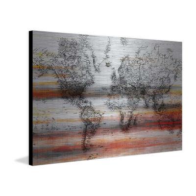 Maailma Painting Print on Aluminum