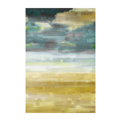 Sandy Vision Painting Print on Wrapped Canvas