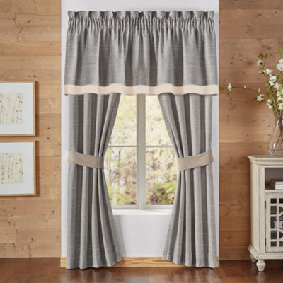 Croscill Classics Berin Rod-Pocket Curtain Panel