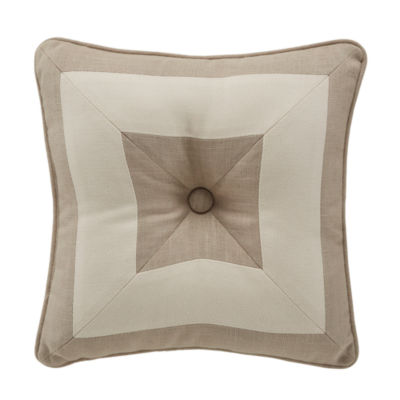 Croscill Classics Berin 16x16 Square Throw Pillow