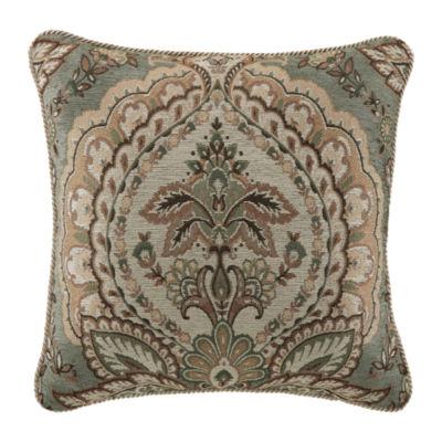 Croscill Classics Rea 18x18 Square Throw Pillow