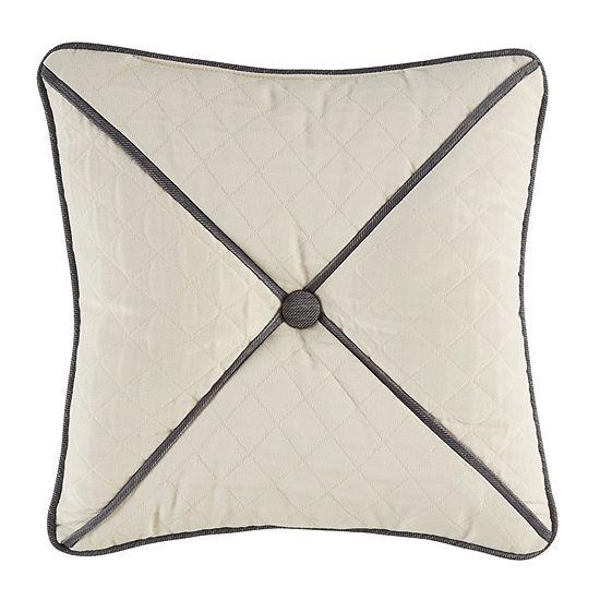 Croscill Classics Auden 16x16 Square Throw Pillow